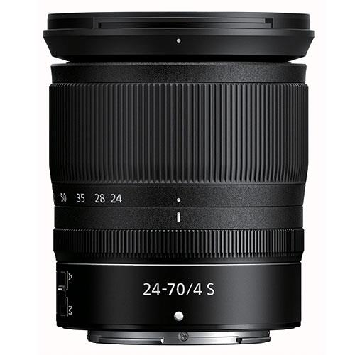 NIKKOR Z 24-70mm f4 S Lens Product Image (Primary)