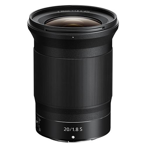 NIKON NIKKOR Z 20mm f/1.8s Product Image (Primary)