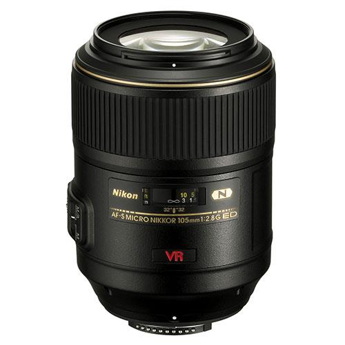 AF-S Micro 105mm f2.8G IF-ED VR Lens Product Image (Primary)