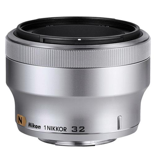 NIKON 1 32mm f1.2 SILVER Product Image (Primary)