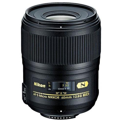 AF-S 60mm f/2.8G ED Micro Lens Product Image (Primary)