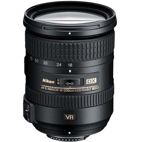 AF-S DX 18-200mm f/3.5-5.6 G ED VR II Lens Product Image (Primary)