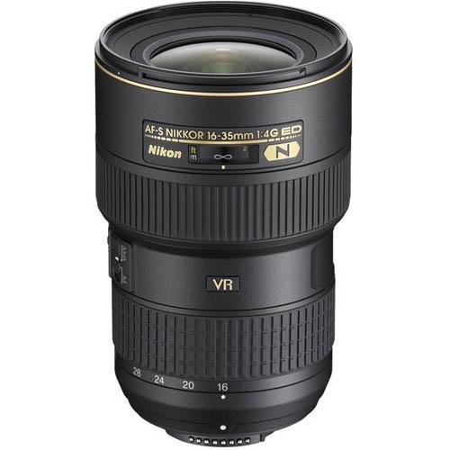 AF-S 16-35mm f4G ED VR Lens Product Image (Primary)