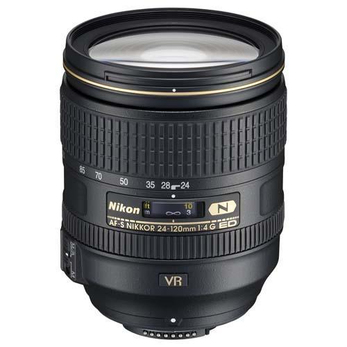 AF-S 24-120mm f4G ED VR Lens Product Image (Primary)