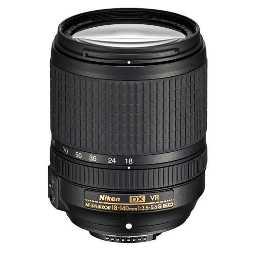 AF-S DX 18-140mm f/3.5-5.6G ED VR Lens Product Image (Primary)