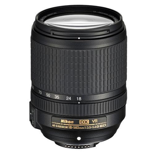 AF-S DX 18-140mm f/3.5-5.6G ED VR Lens Product Image (Primary)