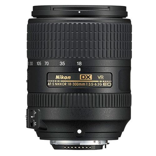 AF-S 18-300mm DX f/3.5-6.3 ED VR Lens Product Image (Primary)
