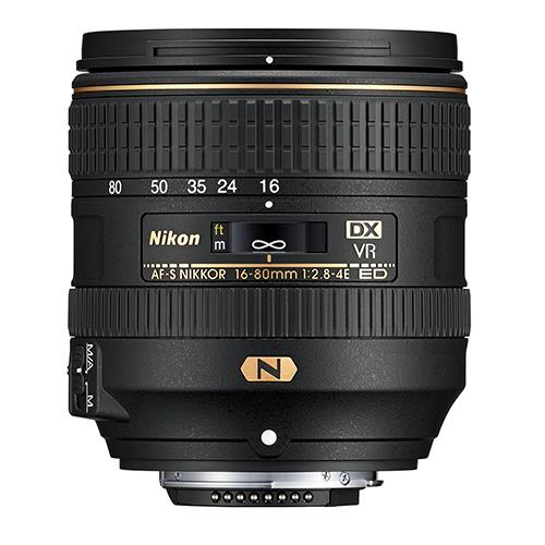 16-80mm f/2.8-4 f/2.8-4E ED VR Lens Product Image (Secondary Image 1)
