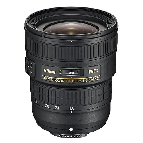 18-35mm f/3.5-4.5G ED Lens Product Image (Primary)