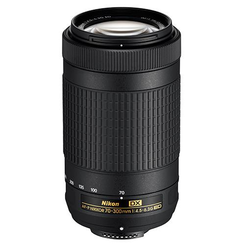AF-P DX NIKKOR 70–300mm f/4.5–6.3G ED Lens Product Image (Primary)
