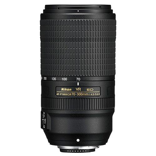 AF-P 70-300mm f/4.5-5.6E ED VR Lens Product Image (Primary)