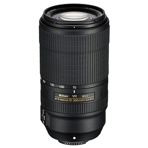 AF-P 70-300mm f/4.5-5.6E ED VR Lens Product Image (Secondary Image 1)