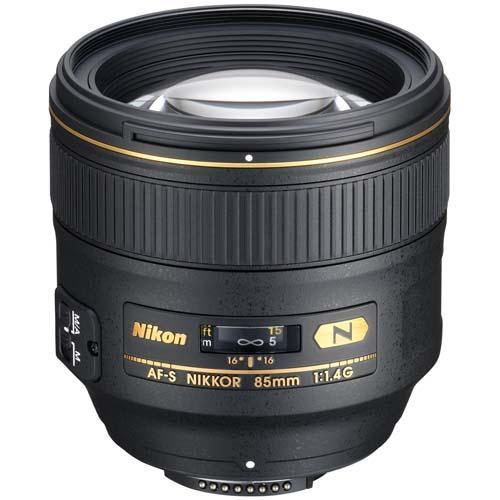 85mm f1.4 G Lens Product Image (Primary)