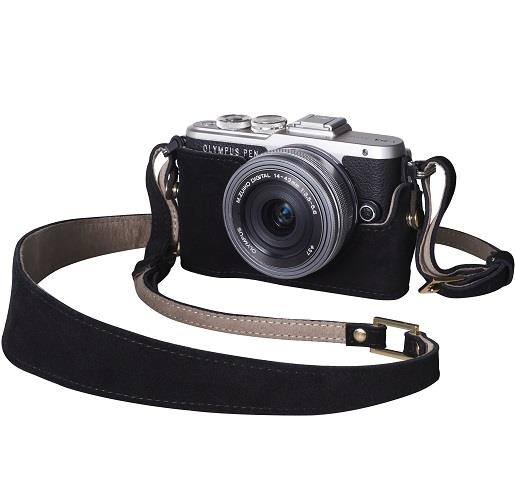 Camera Outfit Hei Coffee - Body Jacket & Strap Product Image (Secondary Image 1)