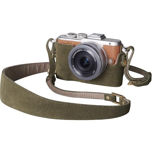 Camera Outfit Olive En Vogue - Body Jacket & Strap Product Image (Secondary Image 1)
