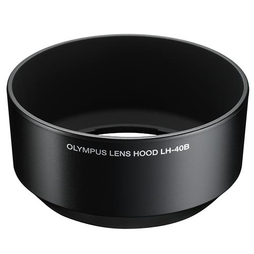 Lens Hood LH-40B in Black Product Image (Primary)