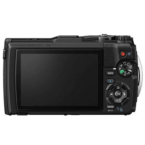 Tough TG-6 Digital Camera in Black Product Image (Secondary Image 1)