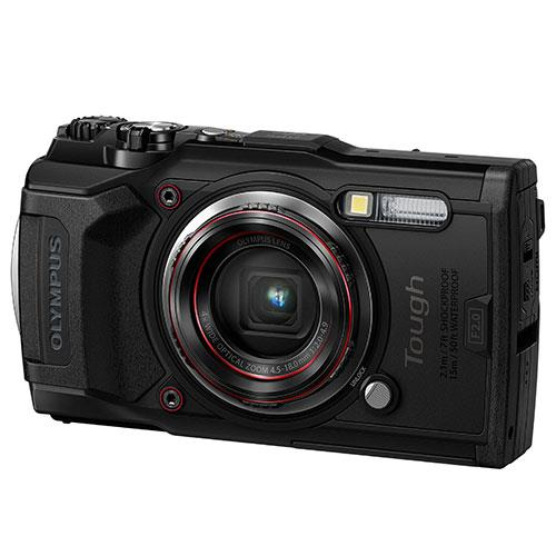 Tough TG-6 Digital Camera in Black Product Image (Secondary Image 2)