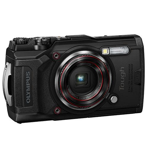 Tough TG-6 Digital Camera in Black Product Image (Secondary Image 3)