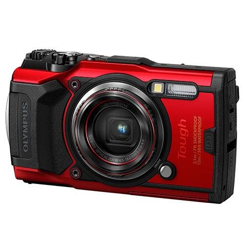 Tough TG-6 Digital Camera in Red Product Image (Secondary Image 2)