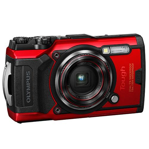 Tough TG-6 Digital Camera in Red Product Image (Secondary Image 3)