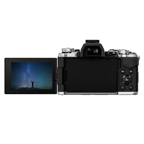 OM-D E-M5 Mark II Compact System Camera Body in Silver Product Image (Secondary Image 3)