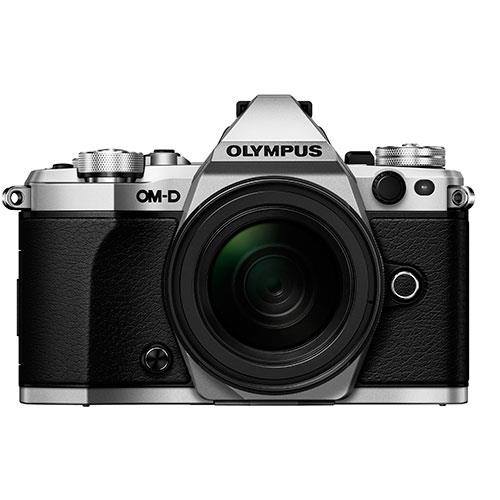 OM-D E-M5 Mark II Compact System Camera in Silver + 12-50mm Lens Product Image (Secondary Image 4)