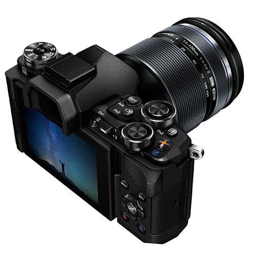 OM-D E-M5 Mark II Compact System Camera in Black + 14-150mm Lens Product Image (Secondary Image 2)