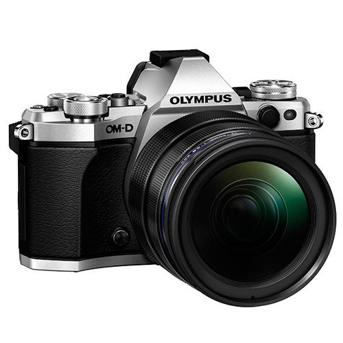 OM-D E-M5 Mark II Compact System Camera in Silver + 12-40mm Lens Product Image (Secondary Image 7)