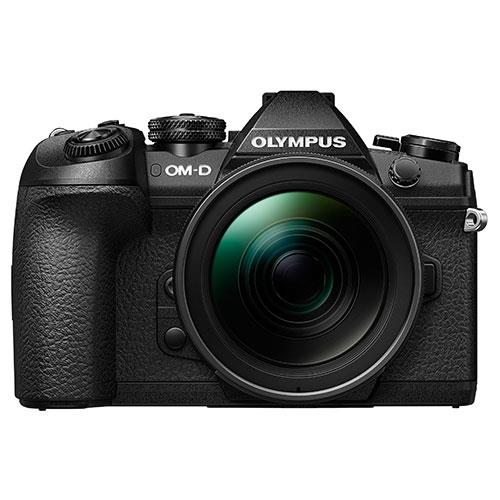 OM-D E-M1 Mark II Mirrorless Camera + EZ-M12-40mm Lens Product Image (Secondary Image 1)