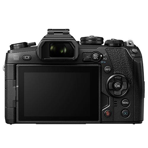 OM-D E-M1 Mark II Mirrorless Camera + EZ-M12-40mm Lens Product Image (Secondary Image 2)