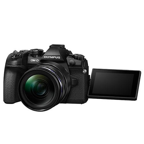 OM-D E-M1 Mark II Mirrorless Camera + EZ-M12-40mm Lens Product Image (Secondary Image 4)