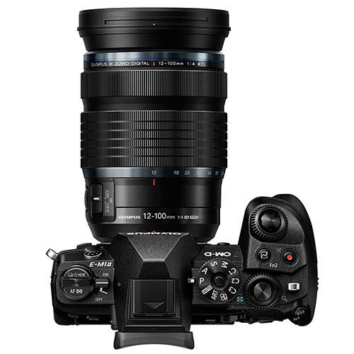 OM-D E-M1 Mark II Mirrorless Camera with 12-100mm f/4 Lens Product Image (Secondary Image 3)