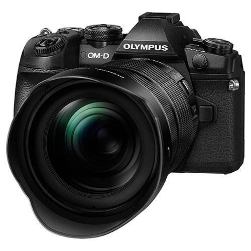 OM-D E-M1 Mark II Mirrorless Camera with 12-100mm f/4 Lens Product Image (Secondary Image 4)