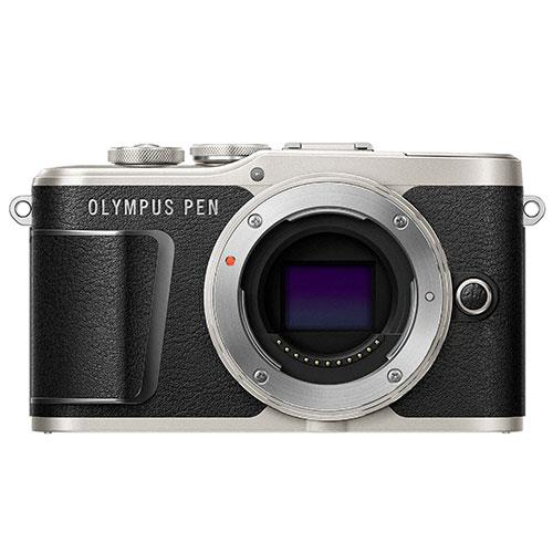 PEN E-PL9 Mirrorless Camera Body in Black Product Image (Primary)