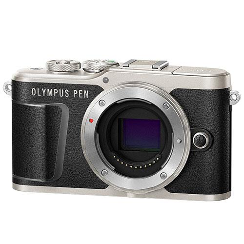 PEN E-PL9 Mirrorless Camera Body in Black Product Image (Secondary Image 1)