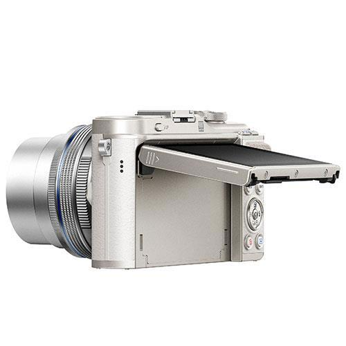 PEN E-PL9 Mirrorless Camera Body in White Product Image (Secondary Image 2)