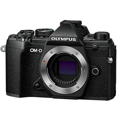 OM-D E-M5 Mark III Mirrorless Camera Body in Black Product Image (Primary)