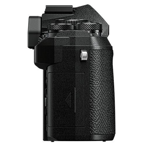 OM-D E-M5 Mark III Mirrorless Camera Body in Black Product Image (Secondary Image 4)