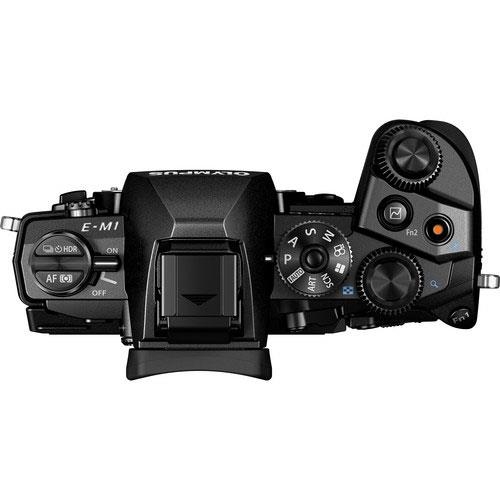 OM-D E-M1 Compact System Camera in Black + 12-40mm Lens - Ex Display Product Image (Secondary Image 2)