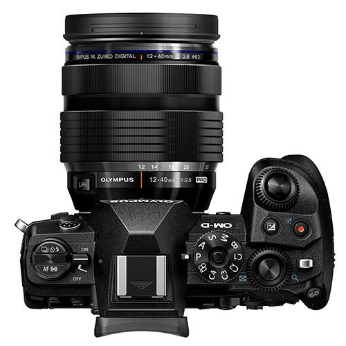 OM-D E-M1 Mark III Mirrorless Camera with 12-40mm Lens  Product Image (Secondary Image 5)