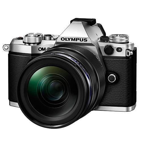 OM-D E-M5 Mark II Compact System Camera in Silver with 12-40mm Lens - Ex-Display Product Image (Primary)