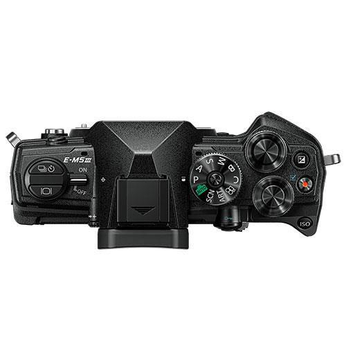 OM-D E-M5 Mark III Mirrorless Camera Body in Black - Ex Display Product Image (Secondary Image 2)