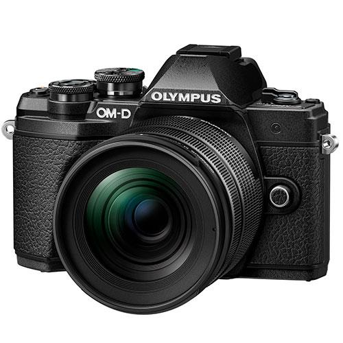 OM-D E-M5 Mark III Mirrorless Camera in Black with 12-45mm F4 Pro Lens Product Image (Primary)