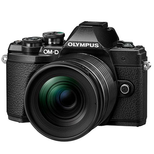 OM-D E-M5 Mark III Mirrorless Camera in Black with 12mm F2 Lens Vlogger Kit Product Image (Secondary Image 3)