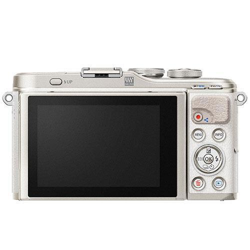 PEN E-PL9 Mirrorless Camera Body in White - Ex Display Product Image (Secondary Image 2)