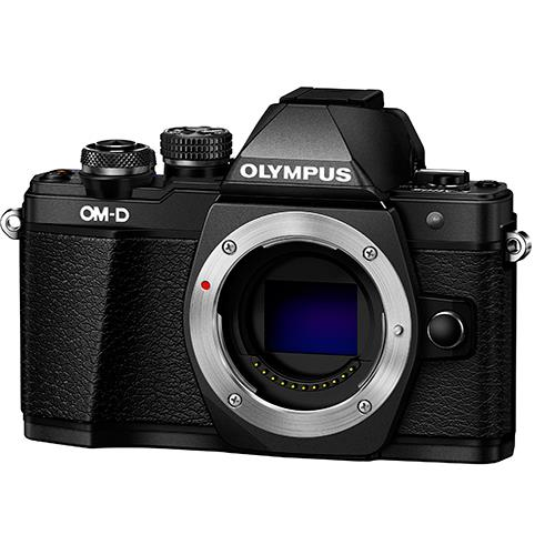 OM-D E-M10 Mark II Compact System Camera Body in Black Product Image (Primary)