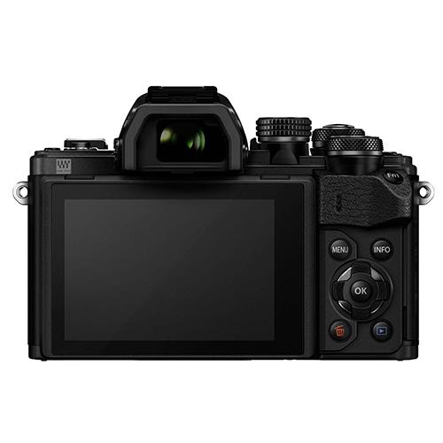 OM-D E-M10 Mark II Compact System Camera Body in Black Product Image (Secondary Image 1)