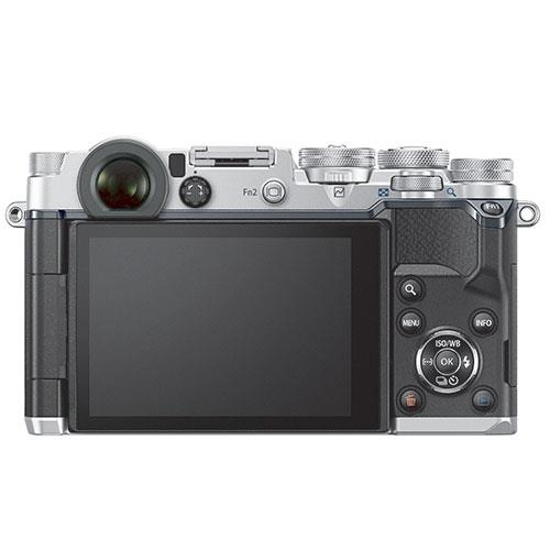 PEN-F Mirrorless Camera Body in Silver Product Image (Secondary Image 2)