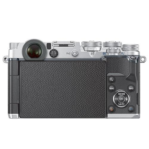 PEN-F Mirrorless Camera Body in Silver Product Image (Secondary Image 3)